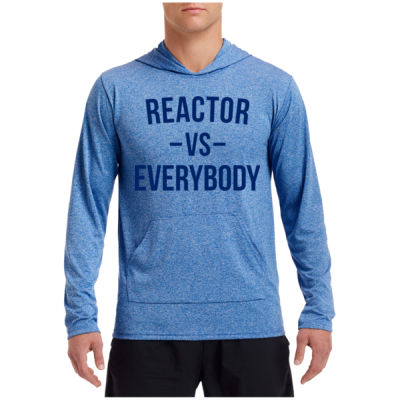 Reactor vs Everybody - Performance Hooded Pullover (S) Thumbnail