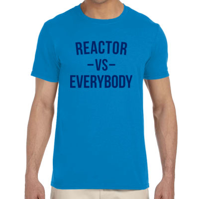 Reactor vs Everybody - Adult Softstyle® 4.5 oz. Heather Color T-Shirt (S) Thumbnail
