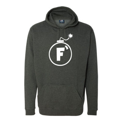 F Bomb - Tailgate Hoodie with Beverage Insulator & Bottle Opener Thumbnail