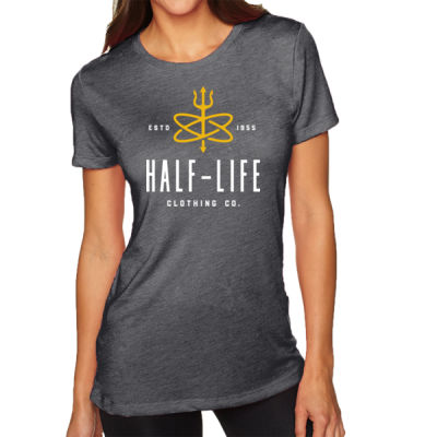 Half-Life Clothing Company - Ladies' Triblend Crew Thumbnail