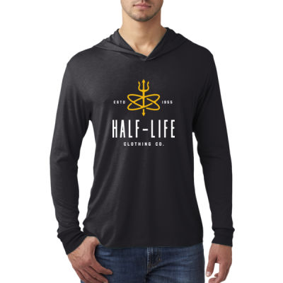Half-Life Clothing Company - Adult Triblend Long-Sleeve Hoody Thumbnail