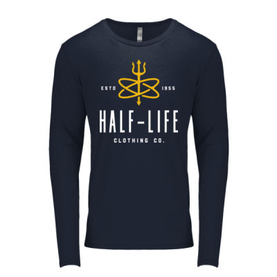 Half-Life Clothing Company - Men's Triblend Long-Sleeve Crew Thumbnail