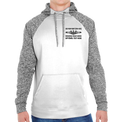 Custom: Los Angeles Class Attack Submarine - Adult Colorblock Cosmic Pullover Hood (S)  Thumbnail