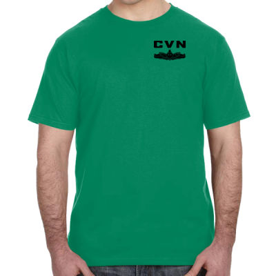 Ford Class Aircraft Carrier (SW) - Lightweight T-Shirt Thumbnail