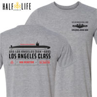 Custom: Los Angeles Class Attack Submarine - Light Youth/Adult Ultra Performance Active Lifestyle T Shirt Thumbnail