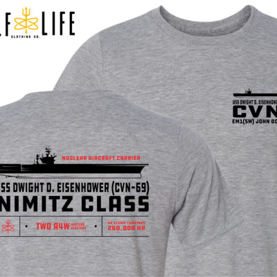 Custom: Nimitz Class Aircraft Carrier (Carrier) - Light Youth/Adult Ultra Performance Active Lifestyle T Shirt Thumbnail