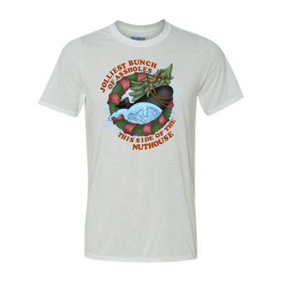 USS Griswold Jolliest Bunch of Assholes this side of the Nuthouse - Light Youth/Adult Ultra Performance Active Lifestyle T Shirt Thumbnail