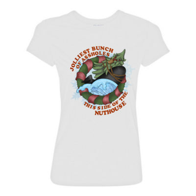 USS Griswold Jolliest Bunch of Assholes this side of the Nuthouse - Light Ladies Ultra Performance Active Lifestyle T Shirt Thumbnail
