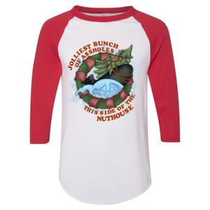 Submariners - Jolliest Bunch of Assholes this side of the Nuthouse - Adult 3/4-Sleeve Baseball Jersey (S) Thumbnail