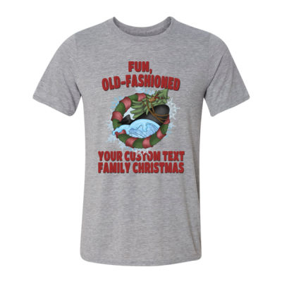 USS Griswold Fun, Old-Fashioned Christmas  - Light Youth/Adult Ultra Performance Active Lifestyle T Shirt Thumbnail