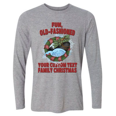 USS Griswold Fun, Old-Fashioned Christmas  - Light Long Sleeve Ultra Performance Active Lifestyle T Shirt Thumbnail