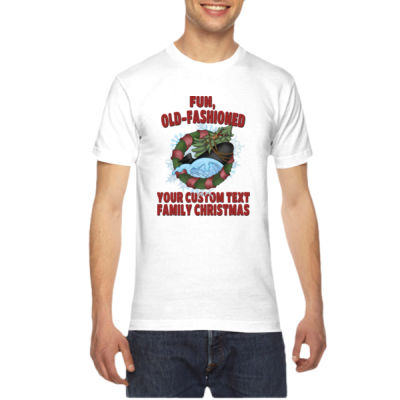 USS Griswold Fun, Old-Fashioned Christmas  - American Apparel Unisex T-Shirt Thumbnail
