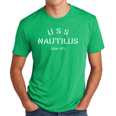 USS Nautilus - Underway on Nuclear Power - Men's Triblend Crew Thumbnail