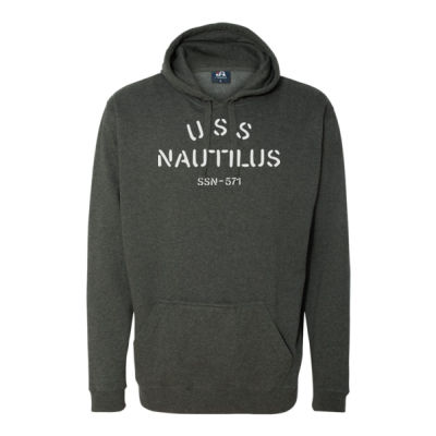 USS Nautilus - Underway on Nuclear Power - Tailgate Hoodie with Beverage Insulator & Bottle Opener Thumbnail