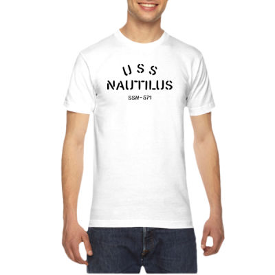 USS Nautilus - Underway on Nuclear Power - American Apparel Unisex T-Shirt Thumbnail