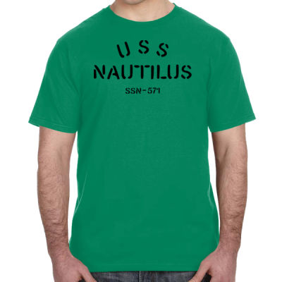 USS Nautilus - Underway on Nuclear Power - Lightweight T-Shirt Thumbnail