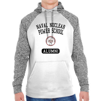 NNPS Alumni - Mare Island (Vertical) - Adult Colorblock Cosmic Pullover Hood (S)  Thumbnail