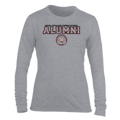 NNPS Alumni - Mare Island (H) - Light Ladies Long Sleeve Ultra Performance Active Lifestyle T Shirt Thumbnail