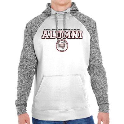 NNPS Alumni - Mare Island (H) - Adult Colorblock Cosmic Pullover Hood (S)  Thumbnail