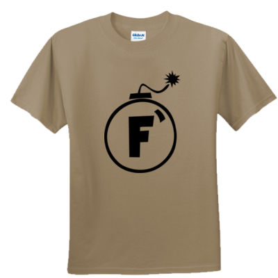 F Bomb - Unisex or Youth Ultra Cotton™ 100% Cotton T Shirt Thumbnail