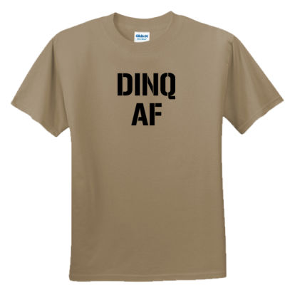 Dinq AF - Unisex or Youth Ultra Cotton™ 100% Cotton T Shirt Thumbnail