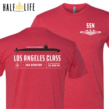 Los Angeles Class Attack Submarine Men's Triblend Crew Thumbnail