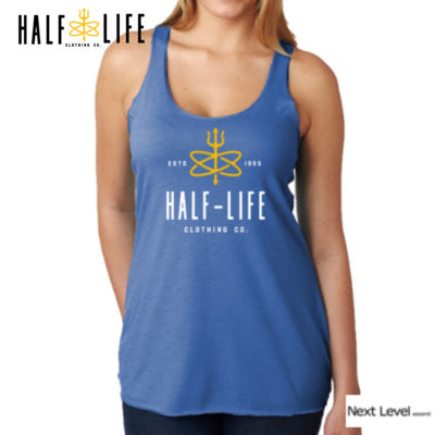Half Life Clothing Company Ladies' Triblend Racerback Tank (Stock) Thumbnail