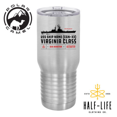 Virginia Class Cruiser - Polar Camel 20 oz. Tall Stainless Steel Vacuum Insulated Tumbler Thumbnail