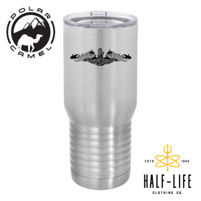 The Best Marine is a Submarine - Polar Camel 20 oz. Tall Stainless Steel Vacuum Insulated Tumbler Thumbnail