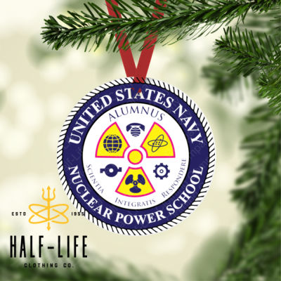 Naval Nuclear Power School (NNPS) Alumnus - Round Christmas Ornament (HLCC) Thumbnail
