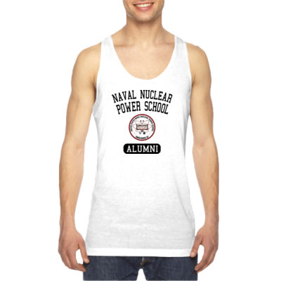 Naval Nuclear Power School Goose Creek, SC Alumni (Vertical) - American Apparel Unisex Sublimation Tank Thumbnail