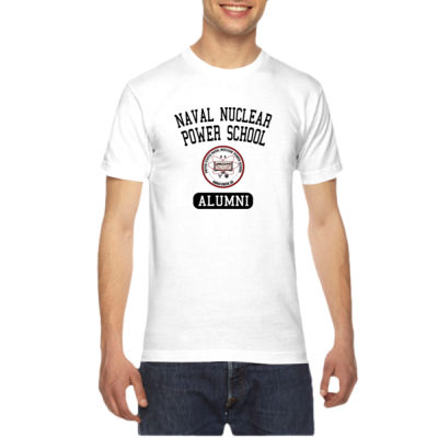 Naval Nuclear Power School Goose Creek, SC Alumni (Vertical) - American Apparel Unisex T-Shirt Thumbnail
