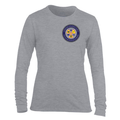 NNPS Alumnus - Light Ladies Long Sleeve Ultra Performance Active Lifestyle T Shirt Thumbnail