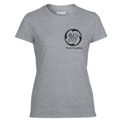 GW Reactor Depart 24/7 - Light Ladies Ultra Performance Active Lifestyle T Shirt Thumbnail