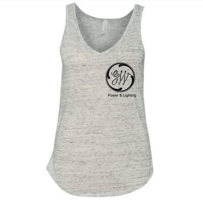 GW Reactor Depart 24/7 - Ladies' Flowy V-Neck Tank Thumbnail