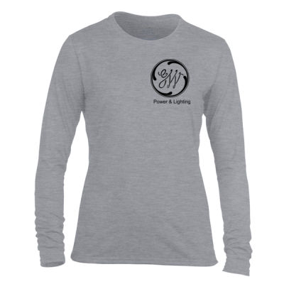 GW Reactor Depart 24/7 - Light Ladies Long Sleeve Ultra Performance Active Lifestyle T Shirt Thumbnail