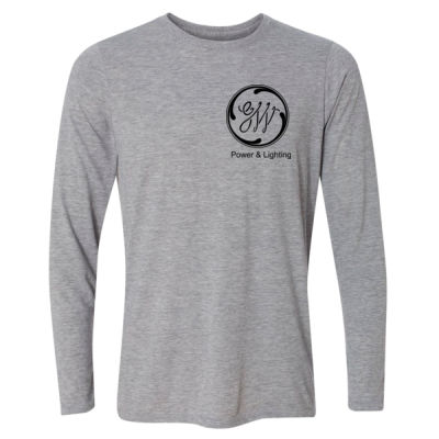 GW Reactor Depart 24/7 - Light Long Sleeve Ultra Performance Active Lifestyle T Shirt Thumbnail