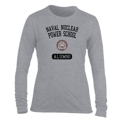 NNPS Alumni - Mare Island (Vertical) - Light Ladies Long Sleeve Ultra Performance Active Lifestyle T Shirt Thumbnail