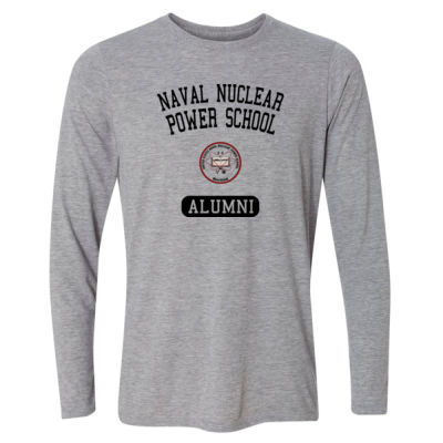 NNPS Alumni - Mare Island (Vertical) - Light Long Sleeve Ultra Performance Active Lifestyle T Shirt Thumbnail