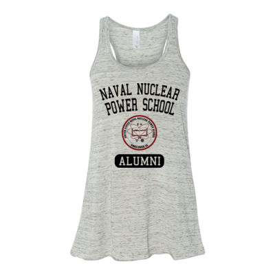 Naval Nuclear Power School Goose Creek, SC Alumni (Vertical) - Bella Ladies' Flowy Racerback Tank (S) Thumbnail