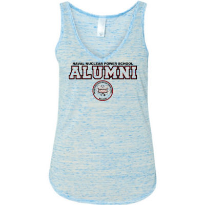 NNPS Alumni - Mare Island (H) - Ladies' Flowy V-Neck Tank Thumbnail