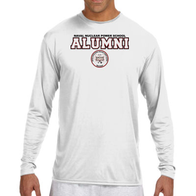 NNPS Alumni - Mare Island (H) - (S) Long Sleeve Cooling Performance Crew Light Color Shirt Thumbnail