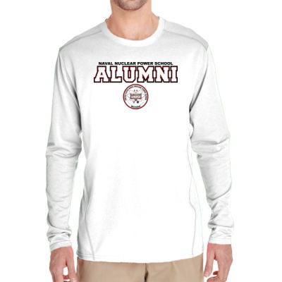 NNPS Alumni - Mare Island (H) - (S) Adult Tech Long-Sleeve Light Color T-Shirt Thumbnail