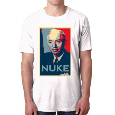 Rickover Contemporary Nuke - Men's Poly/Cotton Short-Sleeve Crew Tee Thumbnail