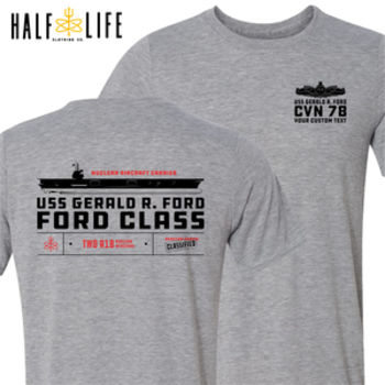 Custom: Ford Class Aircraft Carrier (SW) - Light Youth/Adult Ultra Performance Active Lifestyle T Shirt Thumbnail