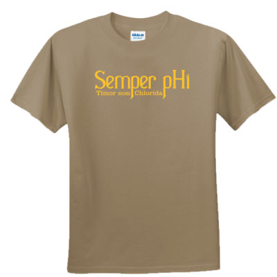 Semper pHi - Timor non Chlorida - Unisex or Youth Ultra Cotton™ 100% Cotton T Shirt Thumbnail