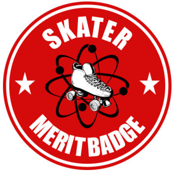 Skater Merit Badge ~3.5